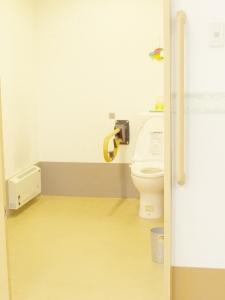障害者用トイレも2ヶ所完備